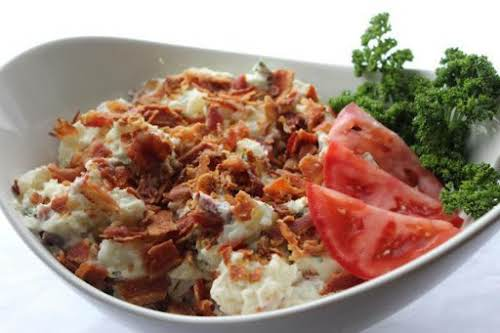 """Simple Ranch Potato Salad""""A simple to make ranch flavored salad for when..."""
