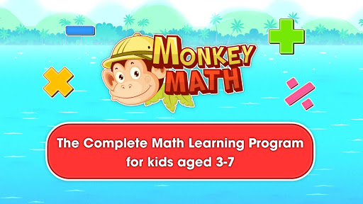 Monkey Math: math games & practice for kids screenshot 1