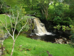 Photo: PW - From Great Shunner Fell to Tan Hill: Kisdon Force
