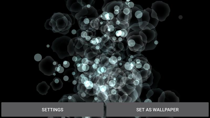 Abstract Particles Wallpaper Screenshot 14