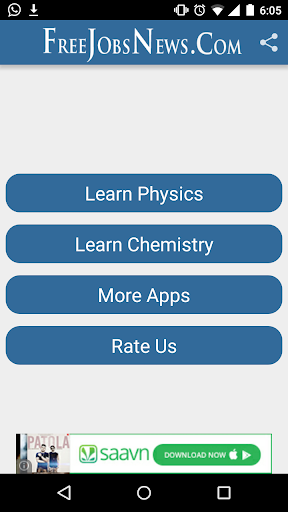 Physics and Chemistry app