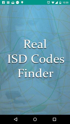 Real ISD Code Finder