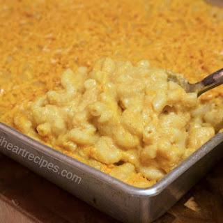 Vegan Baked Macaroni & Cheese.
