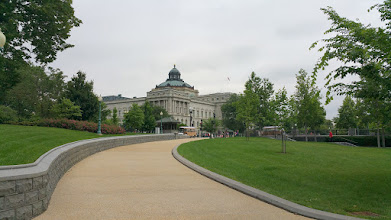 Photo: my love! The Library of Congress! Didn't get to visit this time, but maybe next time.