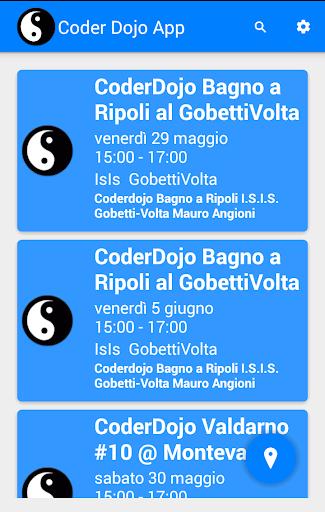 CoderDojo Events App