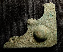 Photo: Knižní kování ze 16. století, které bylo nalezeno v úrovni podlahy bratrského sboru.