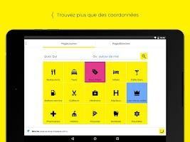 Screenshot of PagesJaunes – recherche locale