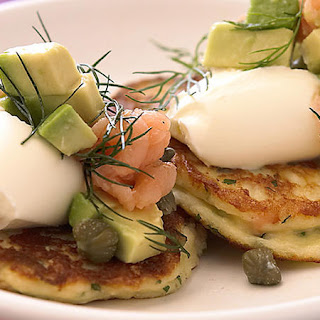 Ricotta and Smoked Salmon Fritters