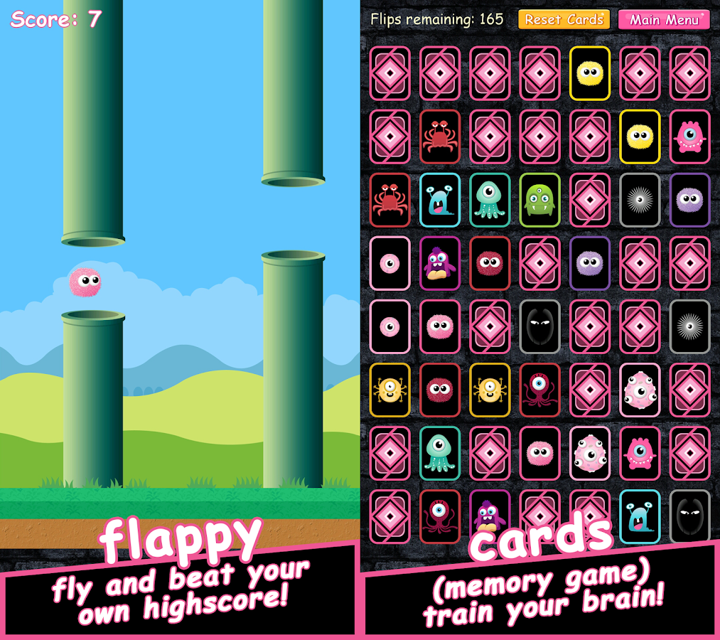Pinkie Pom- screenshot