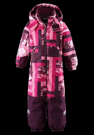 Reimatec Kiddo Snowy 520269B-4651 Raspberry Pink vinterdress