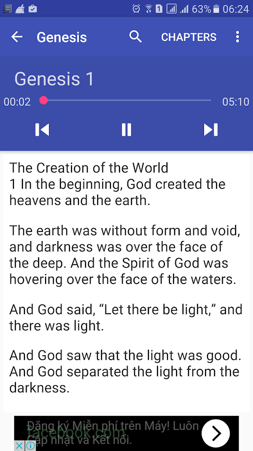Audio Bible- screenshot