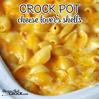 Cheese Lover's Crock Pot Shells.