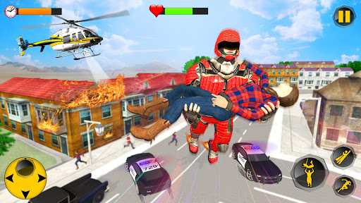 Super Speed Rescue Survival: Flying Hero Games 2 1.0 11