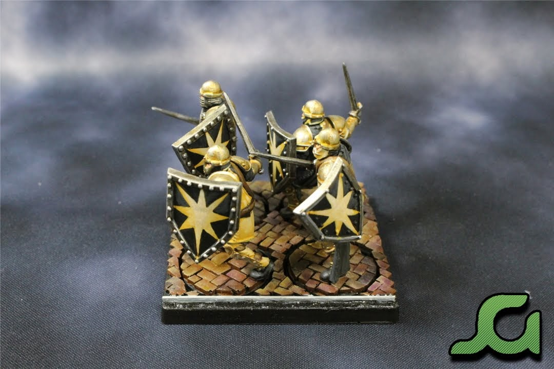 Men-at-arms stand 2 Side
