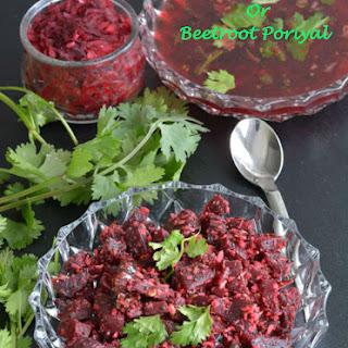 Beetroot Stir Fry Or Beetroot Poriyal