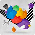 3D Geometric Wallpaper - FREE icon