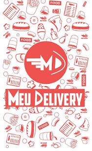 App Meu Delivery - náhled