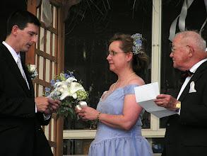 Photo: Steven's vows
