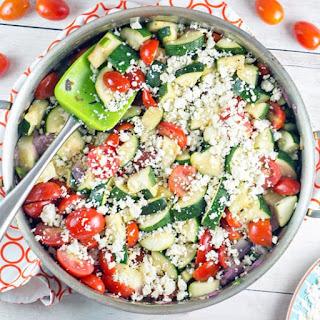 One Skillet Mexican Zucchini Recipe