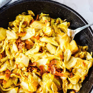 Vegan Southern Fried Cabbage.