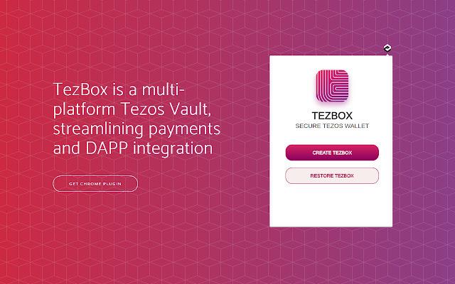 TezBox - Tezos Wallet