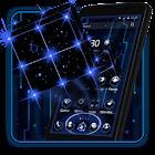 3D Tech Neon Cubeテーマ icon