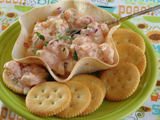 Summer Spicy Shrimp Salad In Tortilla Cups/bowls Recipe