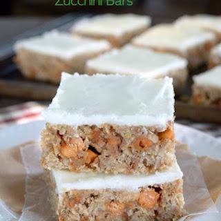 Frosted Butterscotch Zucchini Bars Recipe