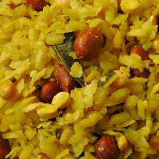 Poha Chivda Recipe | Atukula Mixture.