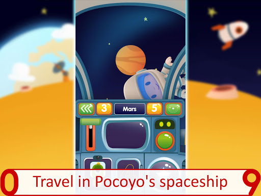 Pocoyo 1, 2, 3 Space Adventure: Discover the Stars apkpoly screenshots 10