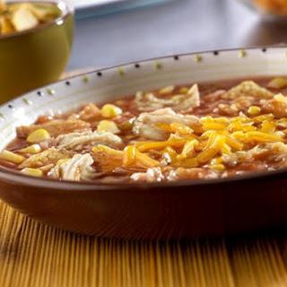 Santa Fe Chicken Tortilla Soup.