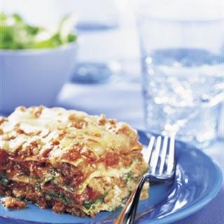Spinach Arugula Lasagna