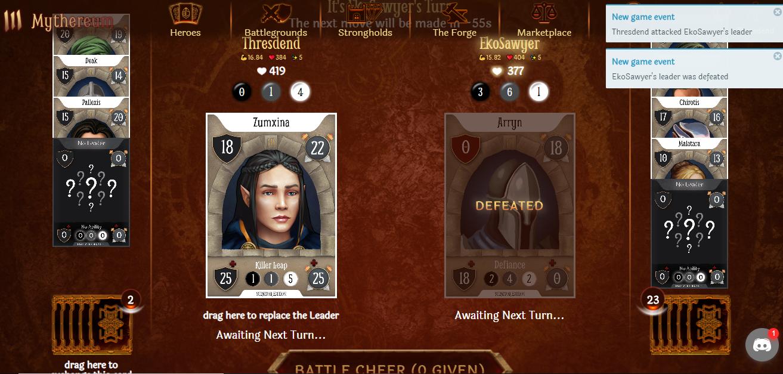 leader cards