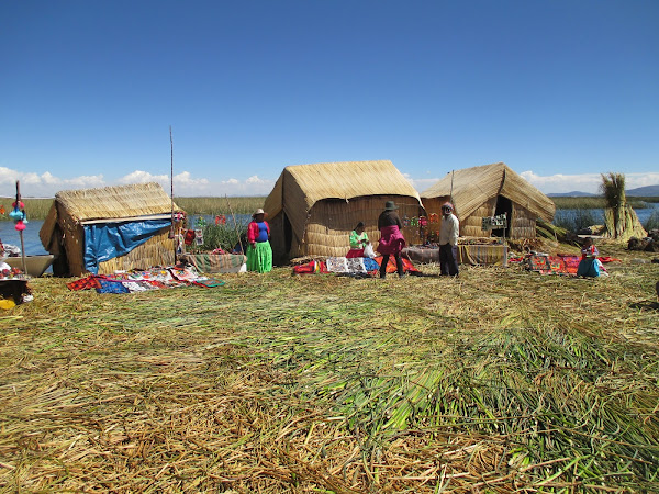 Reed Island of Uros