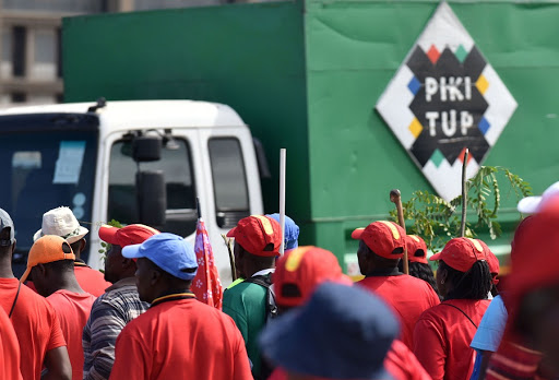 Pikitup staff working under police watch after more than a