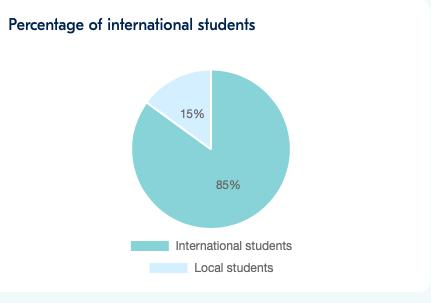 Local vs international students in international schools in Korea