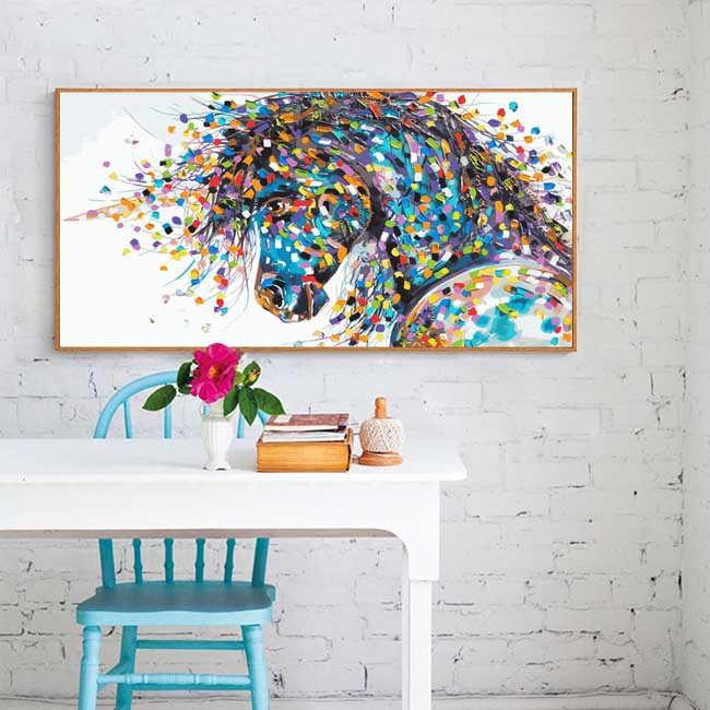 Malen nach Zahlen Tierkunst