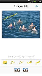 riktiga vykort app