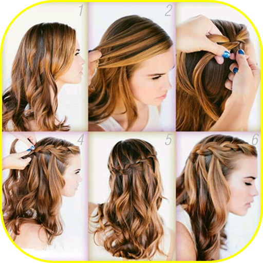 Step By Step Hairstyles For Women Aplicații Pe Google Play