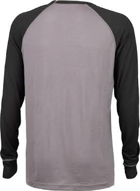 Surly Merino Raglan T-Shirt - Gray/Black alternate image 0