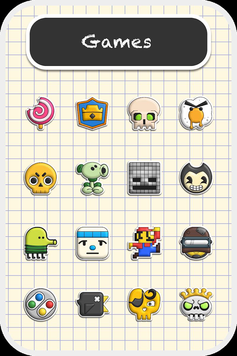 Poppin icon pack Screenshot 2