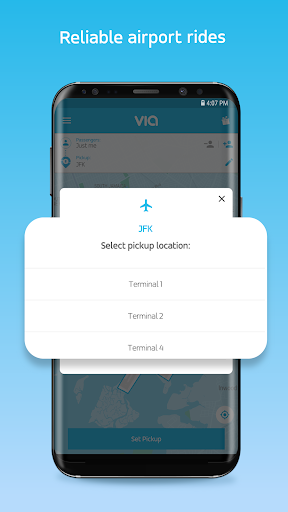 Via - Affordable Ride-sharing  screenshots 4
