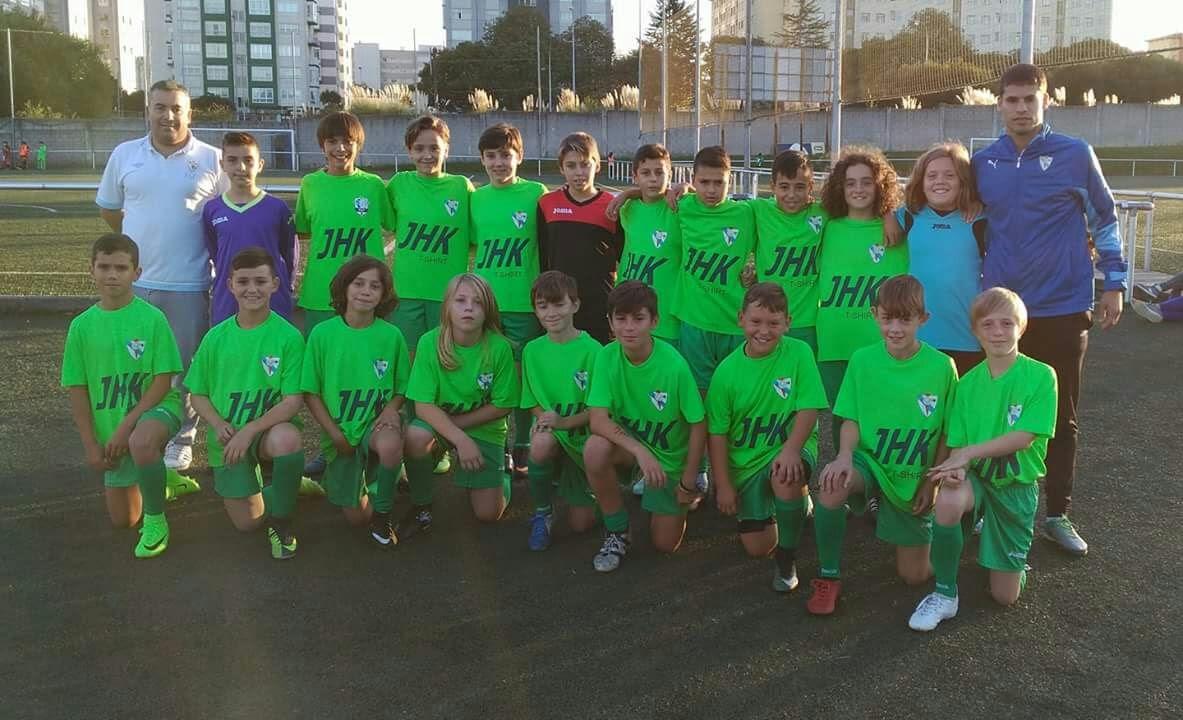 ADR Numancia de Ares. Selección Sub 12 de Ferrolterra. David Vilasánchez.