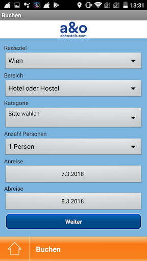 A&O Hotels and Hostels APP screenshot 5