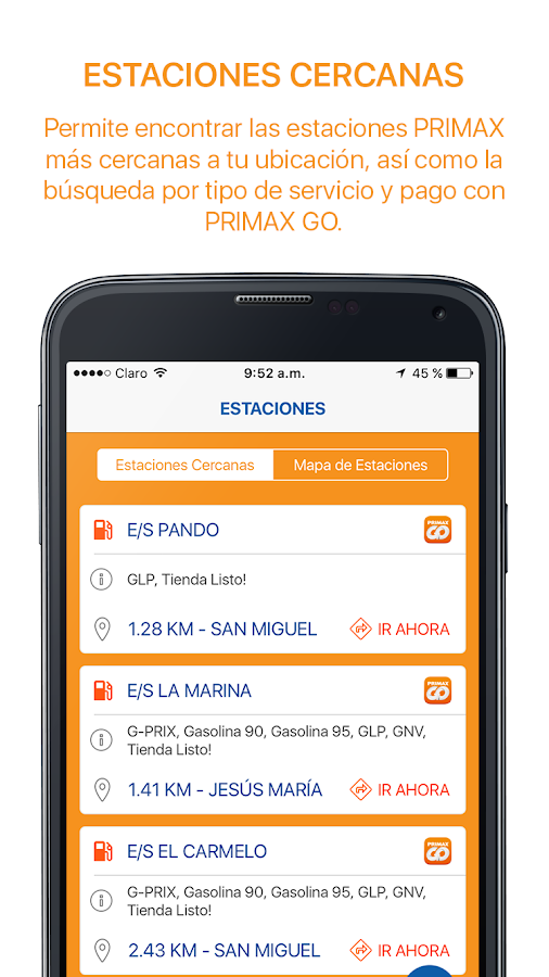 PRIMAX GO- screenshot