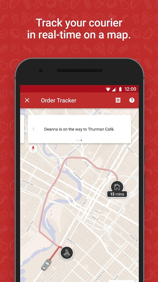 SkipTheDishes - Food Delivery- screenshot