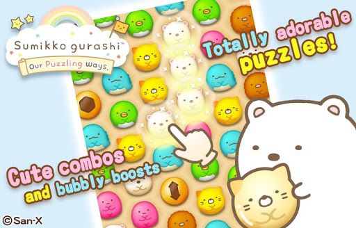 Sumikko gurashi-Puzzling Ways screenshots 1