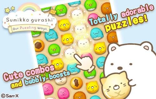 Screenshot 1 Sumikko gurashi-Puzzling Ways 1.8.0 APK MOD