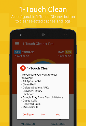 1-Touch Cleaner (Booster) Pro v3.0.1 APK