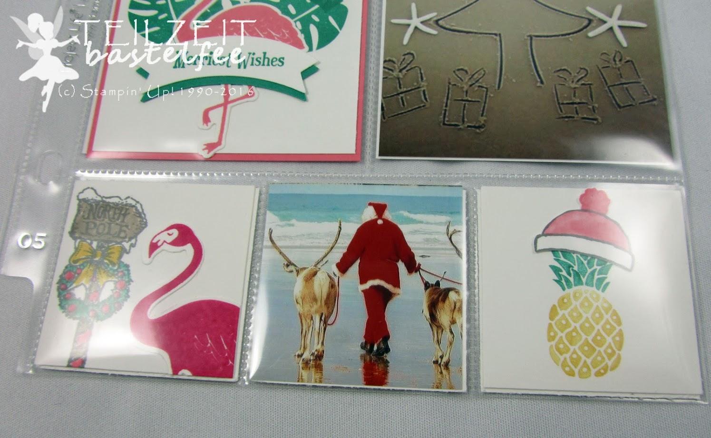 Stampin' Up! – In{k}spire_me #277, Christmas Special, Weihnachtsspecial, Weihnachten, Project Life, Layout, Pop of Paradise, Christmas Magic, Ausgestochen weihnachtlich, Cookie Cutter Christmas, Stanze Bannerduo